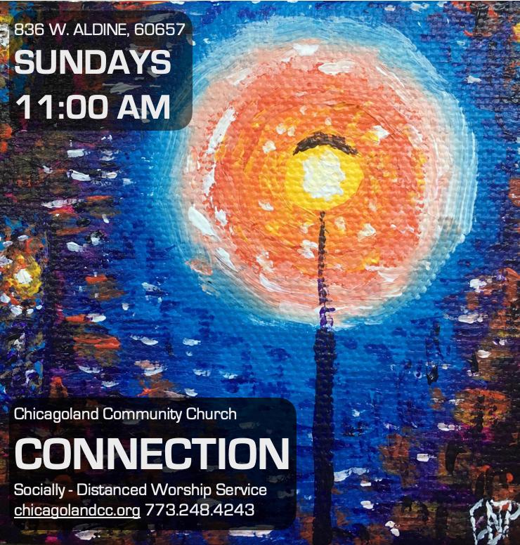 Socially Distanced Worship Service